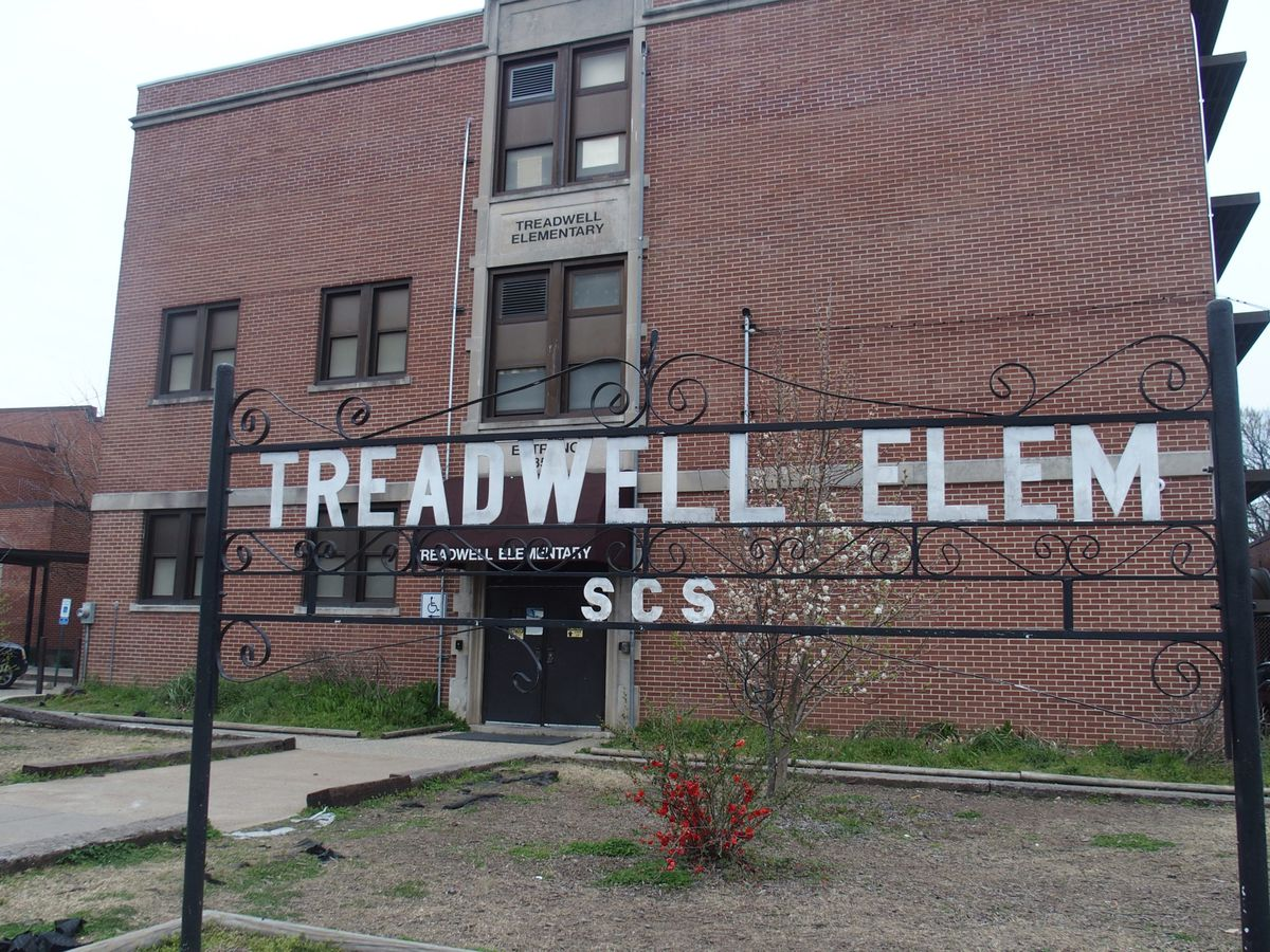 Treadwell Elementary off of Given Avenue in Memphis.