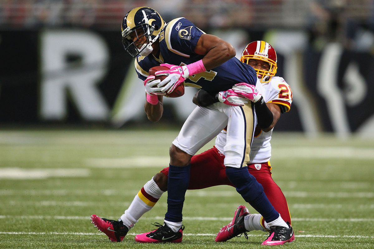 Danario Alexander is the St. Louis Rams lone source of yards after the catch.