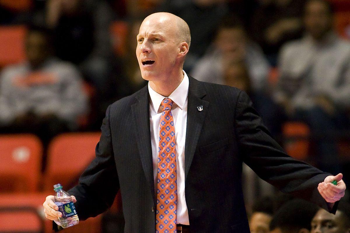 Illinois head coach John Groce