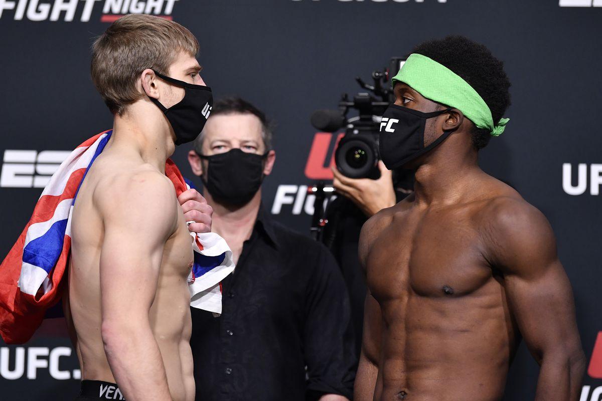 UFC Fight Night Vettori v Holland: Weigh-Ins