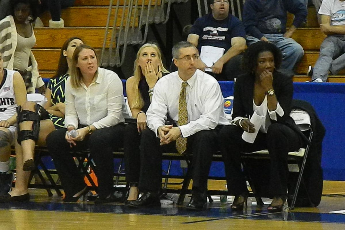 Farleigh Dickinson coach Peter Cinella believes that women's basketball has become increasingly physical in recent years.