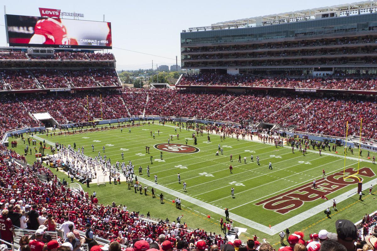 Levi's Stadium in Santa Clara, Calif., home of Super Bowl 50.