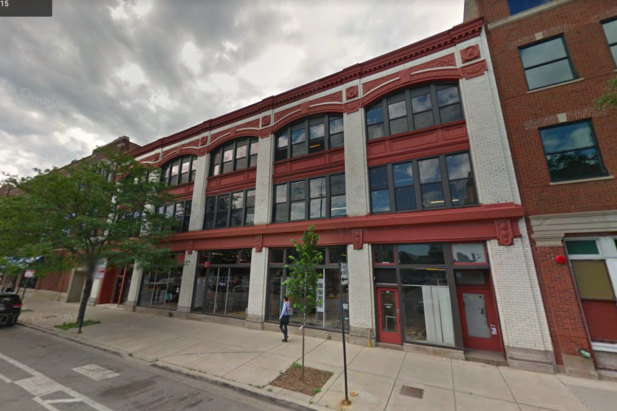 An older commercial building at 1217 W. Washington was highlighted by the  city for its architectural significance
