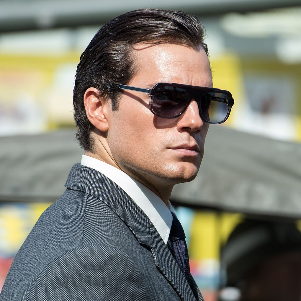 Henry Cavill in The Man From UNCLE (WARNER BROS.)