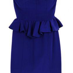 Brigitte silk bustier dress, $190 (was $350)
