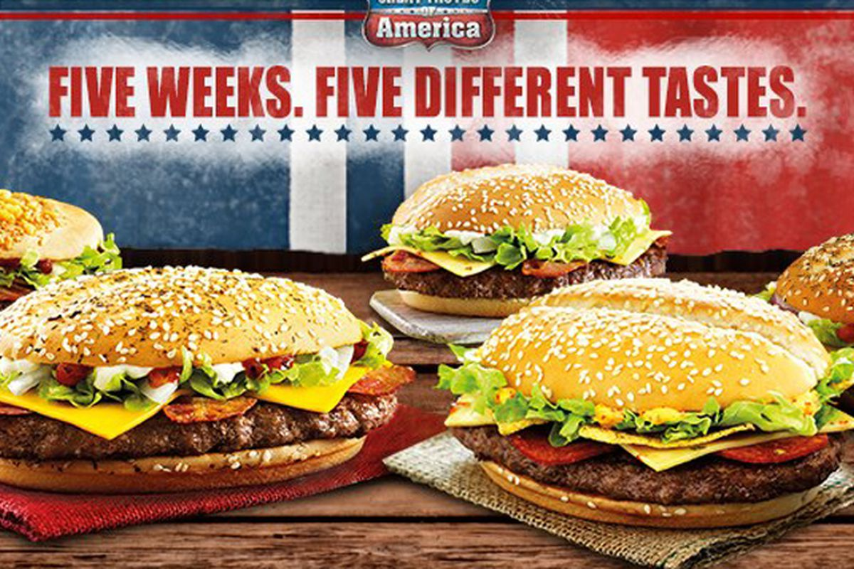 Mcdonald S Unleashes America Themed Menu In The Uk Eater