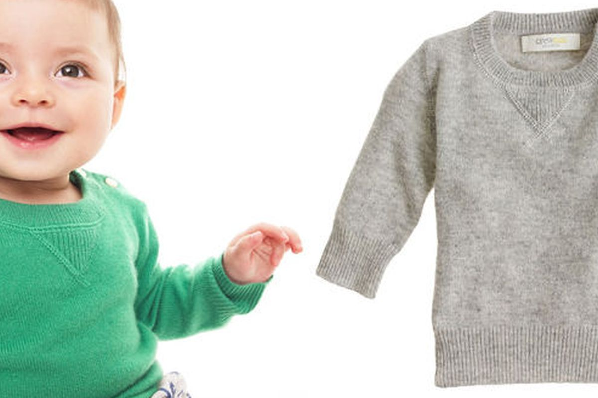 "Collection Cashmere Baby Sweater via <a href=""http://www.jcrew.com/girls_feature/baby/PRDOVR~61181/61181.jsp"">J Crew</a>"