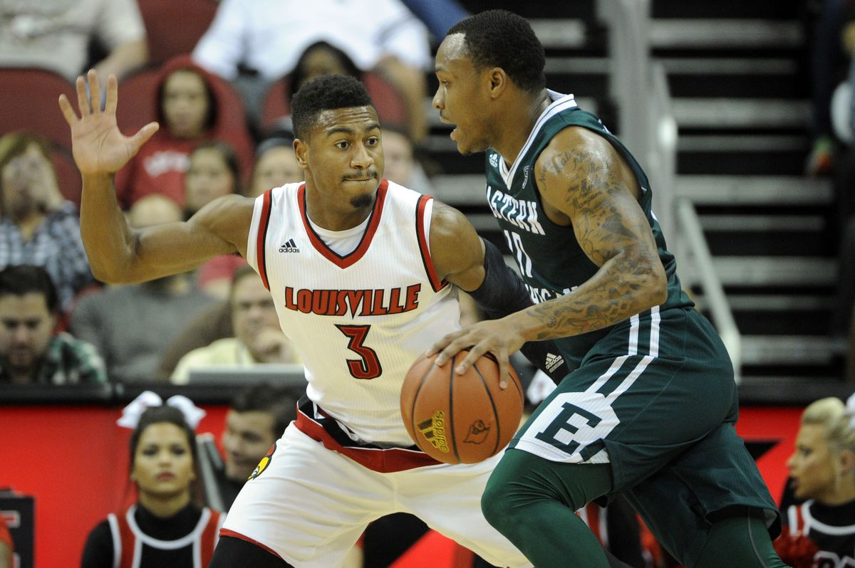 NCAA Basketball: Eastern Michigan at Louisville