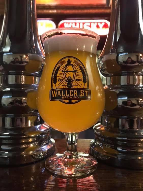 A glass of Waller Street beer.