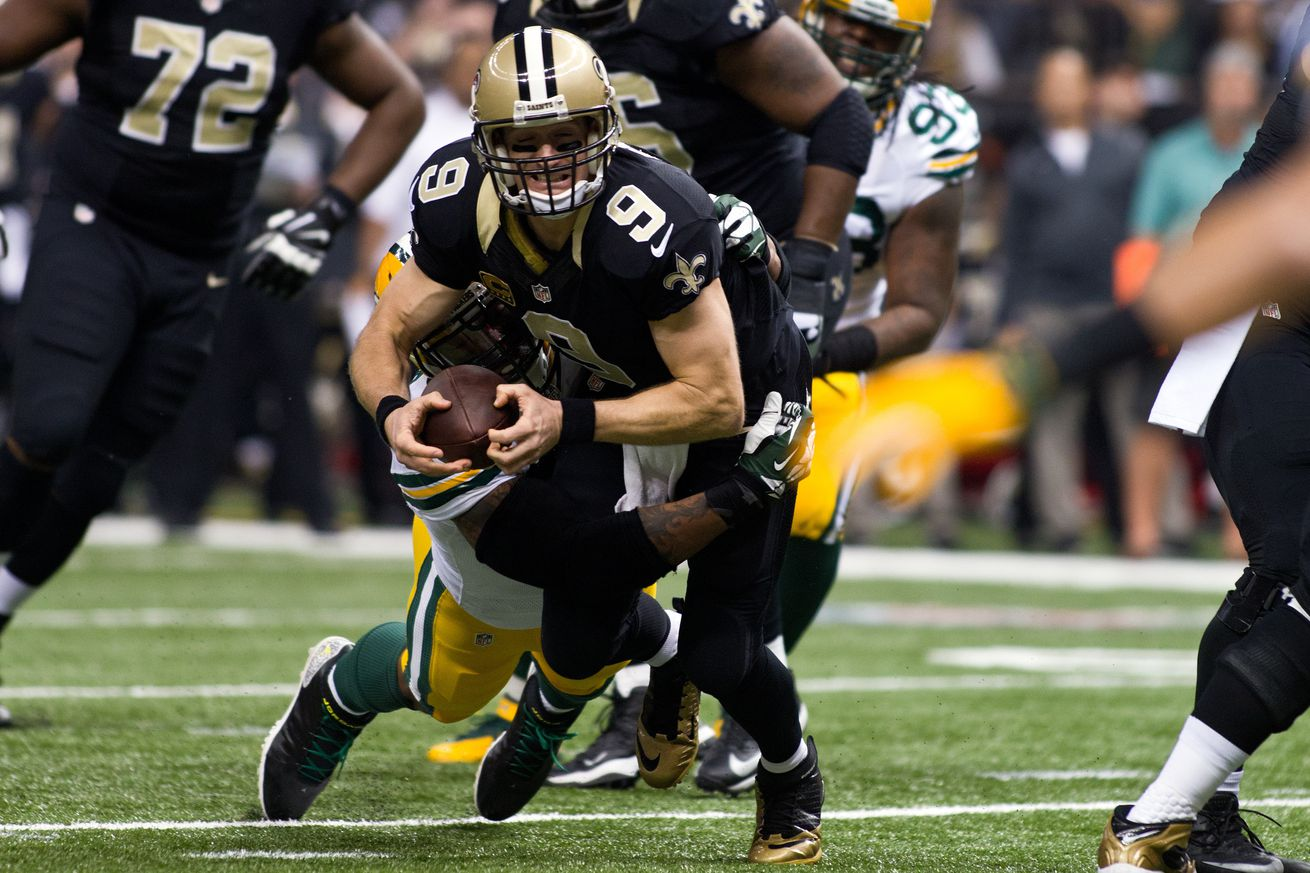 NFL: OCT 26 Packers at Saints