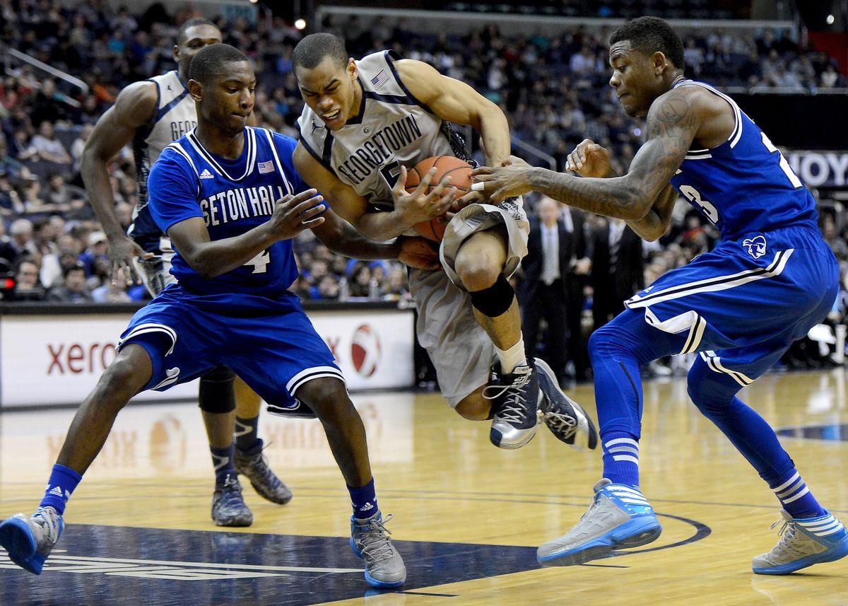 NCAA Basketball: Seton Hall v Georgetown