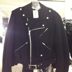 Comme des Garcons Biker Jacket, $383