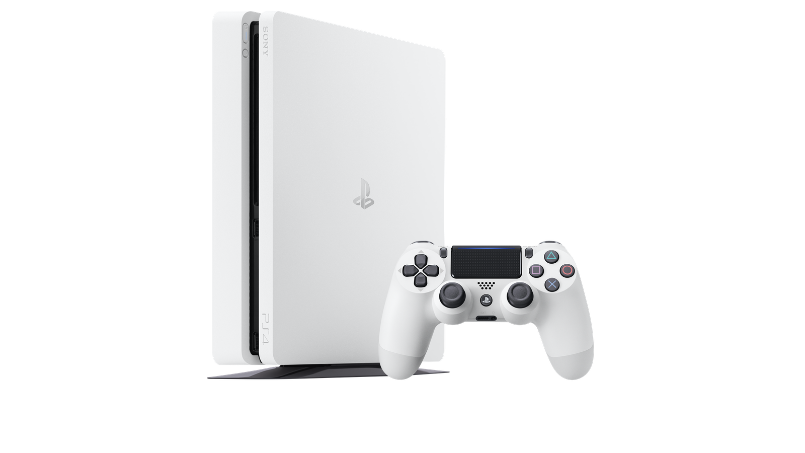 Sony announces 'glacier white' PS4 Slim
