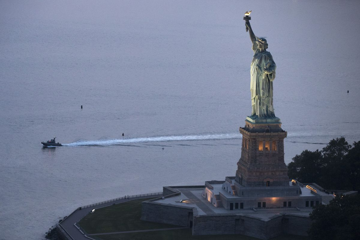 New York City Prepares To Mark The 15th Anniversary Of 9/11 Attacks