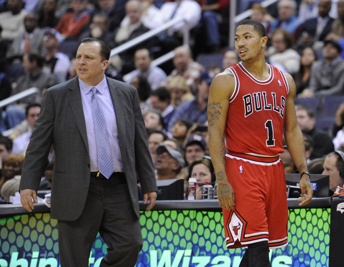 Derrick Rose and Tom Thibodeau had great success together with the Bulls.