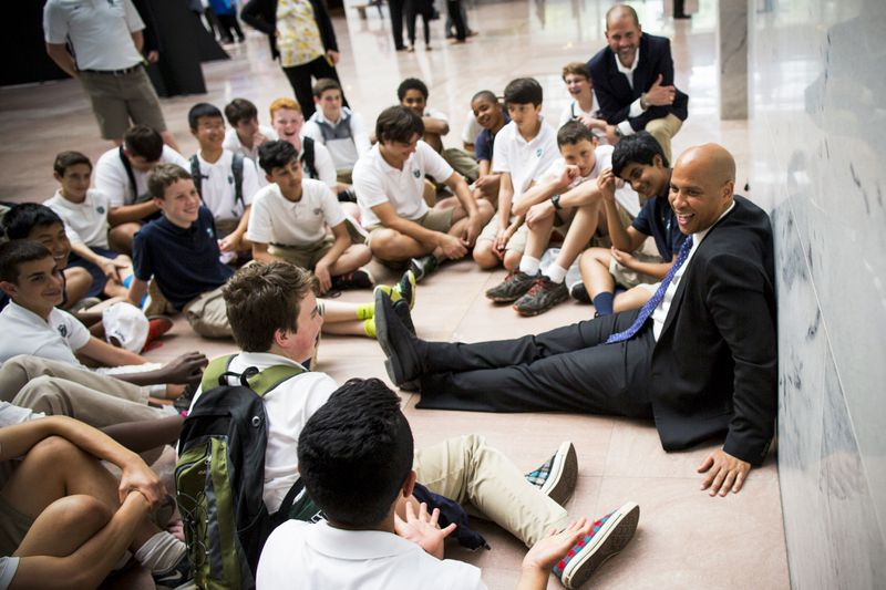 GettyImages_534006774 An exclusive look at Cory Booker's plan to fight wealth inequality: give poor kids money
