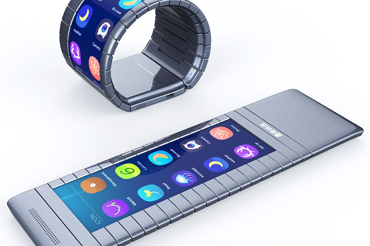 Can an unknown Chinese startup build the world's first bendable screen bracelet phone? - The Verge