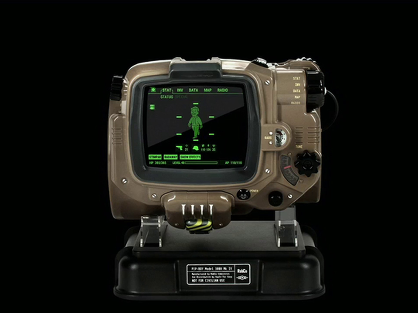 The Pip-Boy is fabulous in Fallout 4 — and it's real