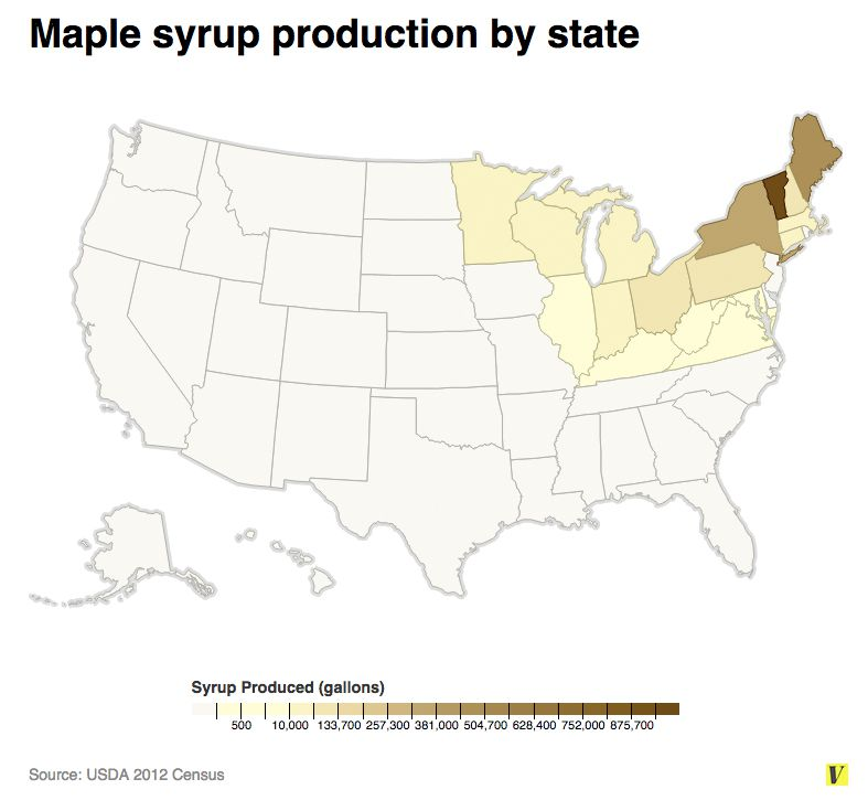 Maple syrup in the United States