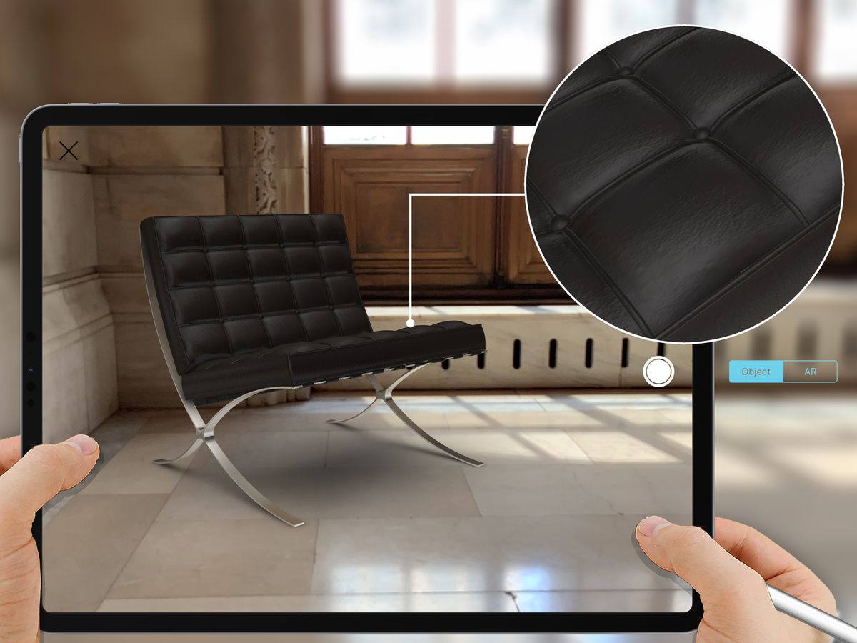 Morpholio's augmented reality app now includes classic Knoll