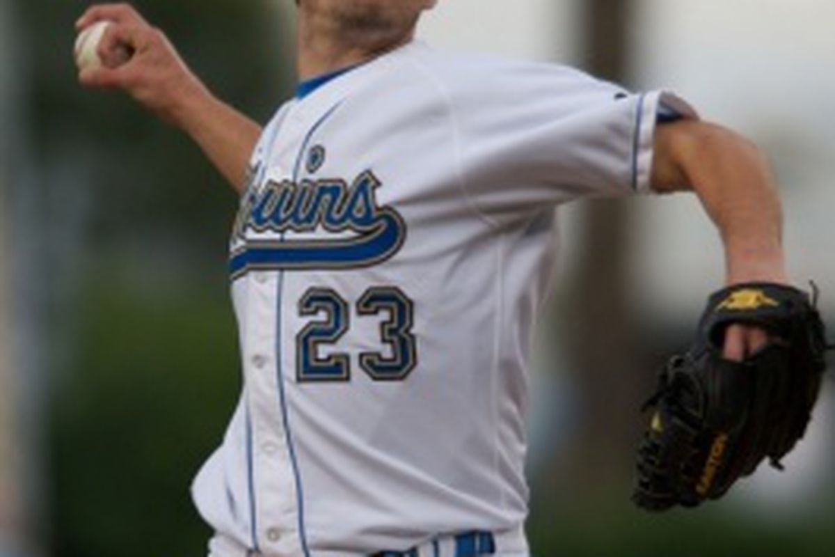 The UCLA bullpen, anchored by Dan Klein, could be the difference as the Bruins and Gamecocks play for the national title (Photo Credit: Official Site)