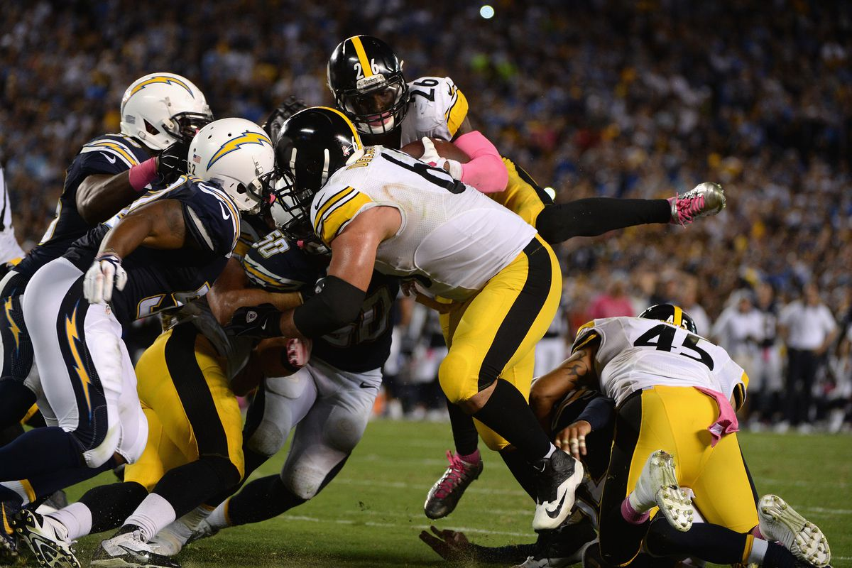 Pittsburgh Steelers v San Diego Chargers