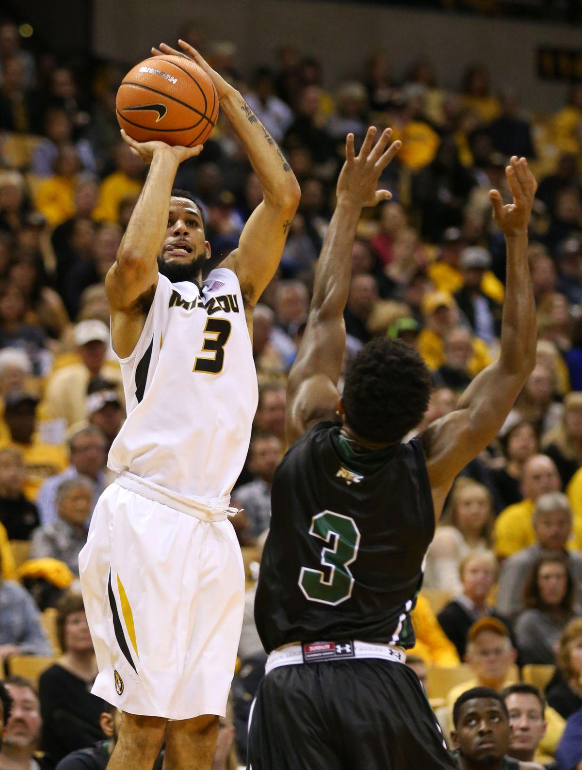 NCAA Basketball: Wagner at Missouri