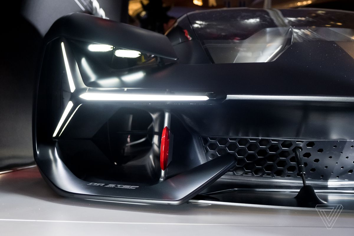 the lamborghini terzo millennio concept is a lightning strike from the future the verge. Black Bedroom Furniture Sets. Home Design Ideas