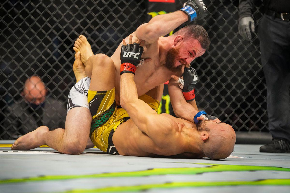 MMA: SEP 25 UFC 266