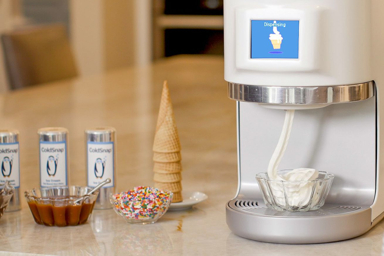 Finally you can have ice cream at home thanks to ice cream pods