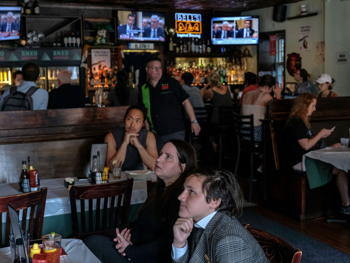 Local Bar Hosts Viewing Party For Mueller Testimony