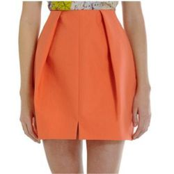 """<a href=""""http://www.barneyswarehouse.com/on/demandware.store/Sites-BNYWS-Site/default/Product-Show?pid=501519430&cgid=womens-clothing&index=84""""><b>Carven</b> Inverted Pleat Skirt</a>, $139 (was $340)"""