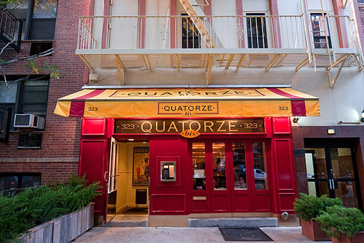 The original Quatorze Bis