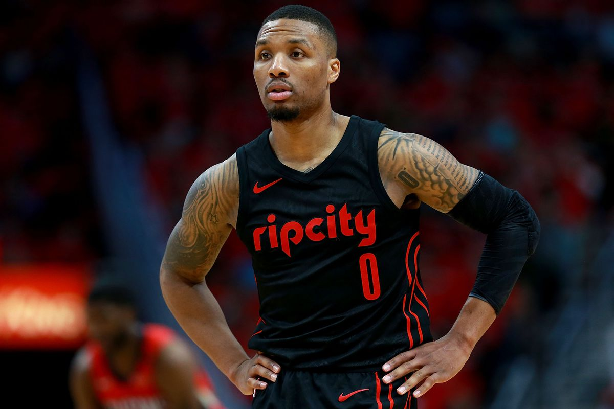 Damian Lillard Has Odds to Be Next Player Caught With Burner Account ... 9830a7175