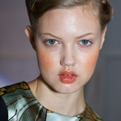 Lindsey Wixson at Preen. Photo credit: Anna Fischer for Racked.com