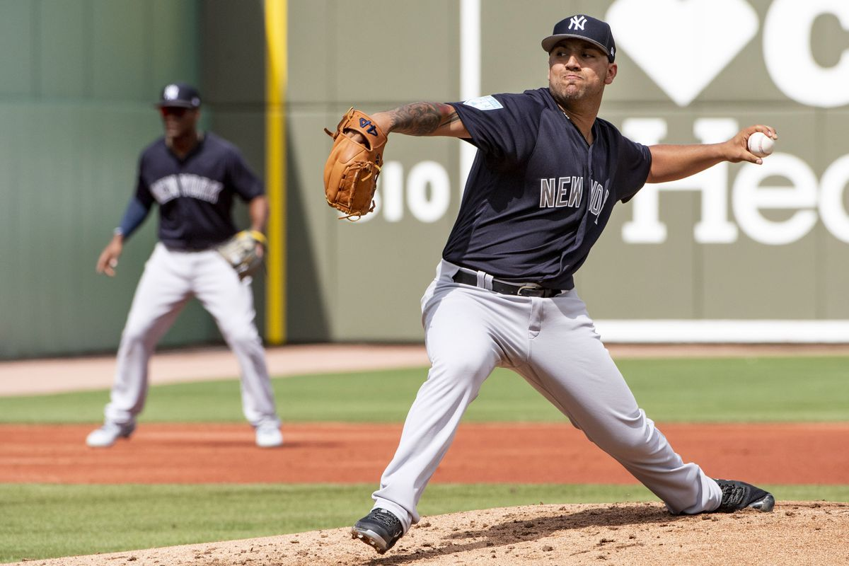 f37ae16fa01a Yankees drop spring opener to Red Sox