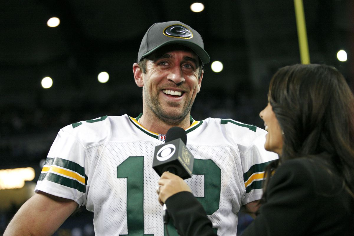Aaron Rodgers records his own interviews to protect himself from