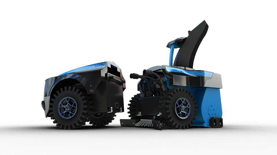 You Can Buy A Robot To Plow Your Driveway This Winter
