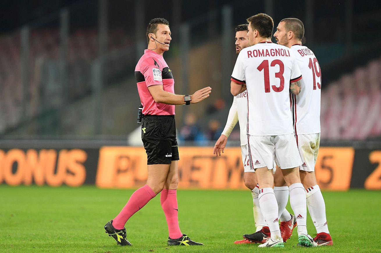 Rossoneri Round-Up for Sept 20: Daniele Doveri Will Officiate the Derby della Madonnina