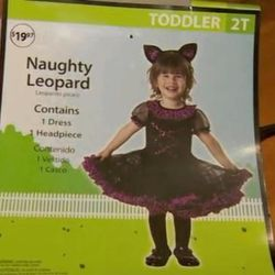 """Less an offensive costume and more an <a href=""""http://www.nydailynews.com/life-style/walmart-yanks-naughty-leopard-toddler-costume-article-1.1469715"""">offensive costume name</a>. Retailers take note for Holday: """"Naughty or nice"""" is no longer PC."""
