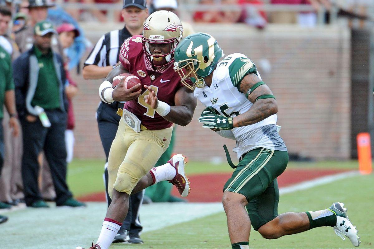 NCAA Football: South Florida at Florida State