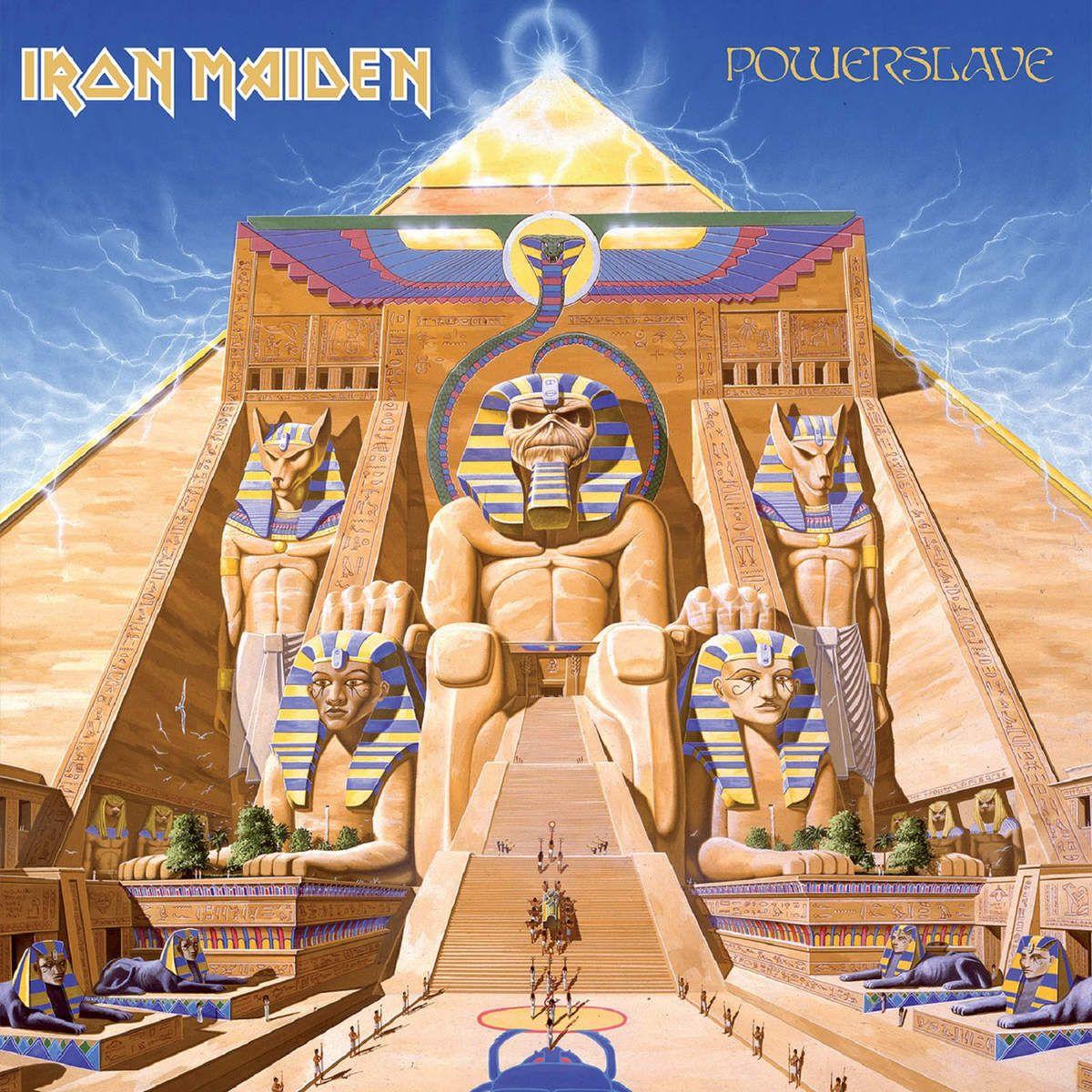 Iron Maiden's Powerslave album cover