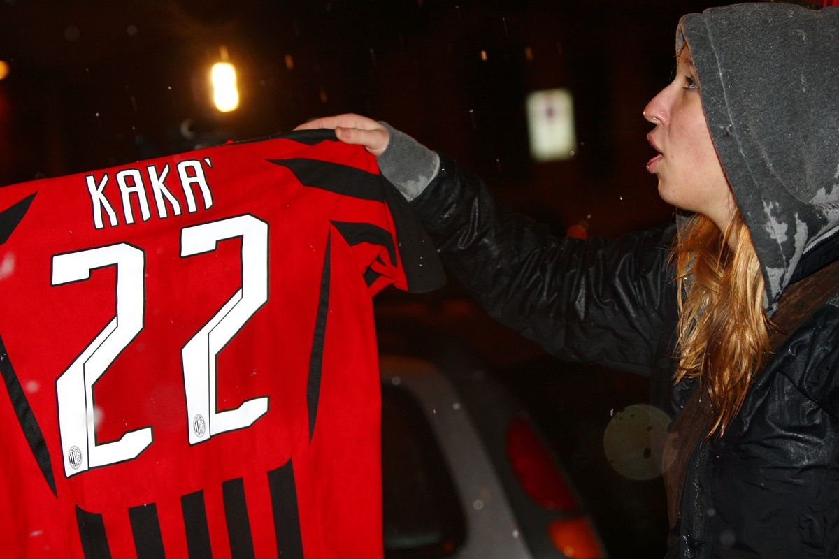 AC Milan Fans Protest Against Proposed Transfer Of Kaka