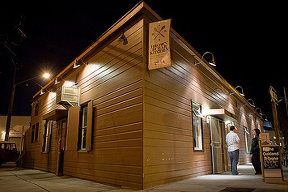 Brown Sugar Kitchen, by night.