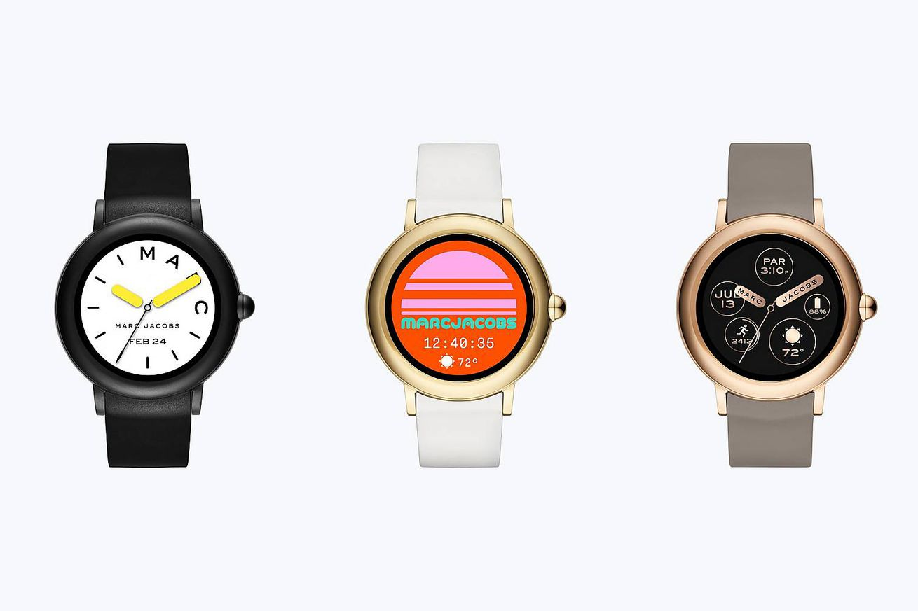 marc jacobs new smartwatch gets a touchscreen at the expense of a long battery life