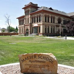 As a result of a settlement reached recently, title companies will pay for a memorial to be built outside the old Maeser School.
