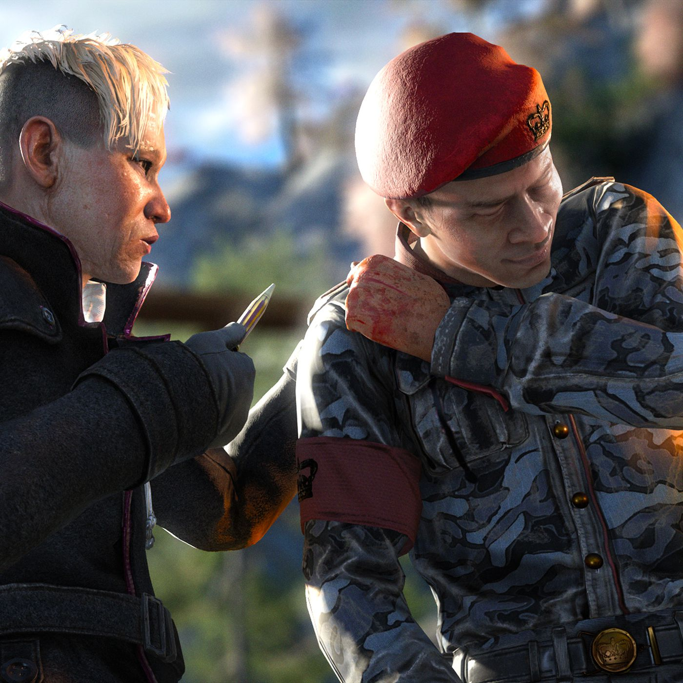 Just How Insane Is Far Cry 4 S Bloody Villain Polygon