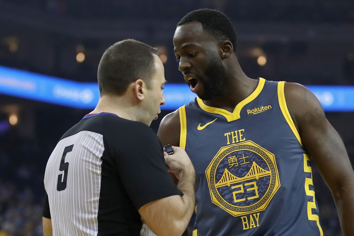 new styles 9bde0 33704 Warriors news: Draymond Green is two technical fouls from a ...