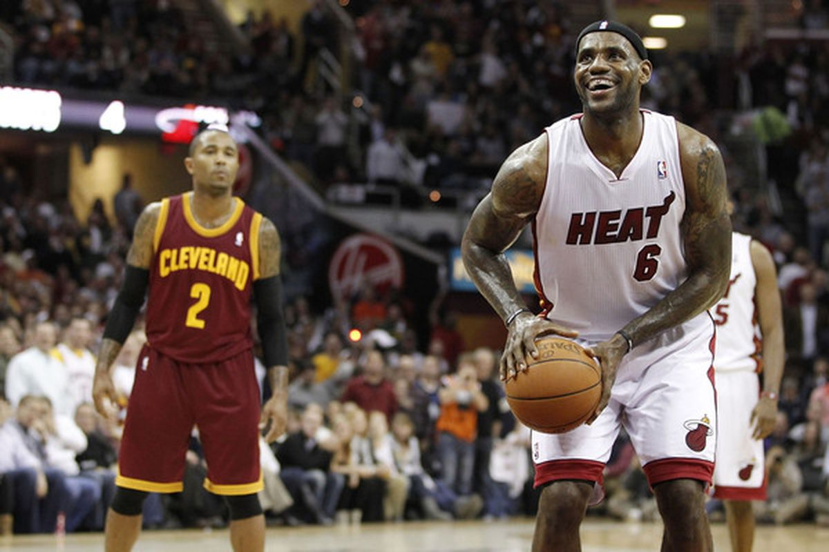 LeBron enjoyed his return to Cleveland a lot more then anyone would've expected.