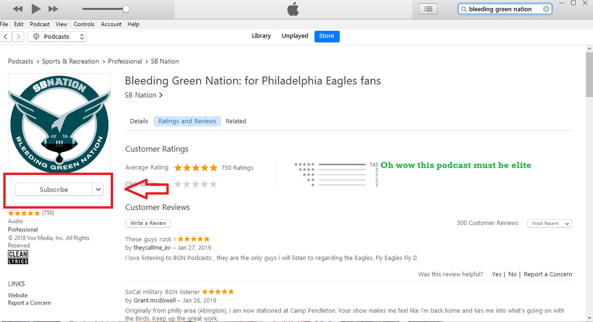 How to listen to BGN Podcasts - Bleeding Green Nation